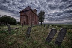 Ursus Church in Woldendorp royalty free stock photo
