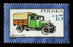 Ursus-a, 1928, Gemotoriseerde voertuigen serie, circa 1987 royalty-vrije stock fotografie