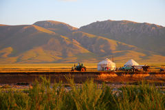 Urta i del Kazakh Imagen de archivo
