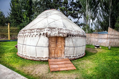 Urta nomadic house Royalty Free Stock Image