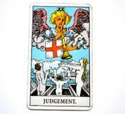 Urteil-Tarock-Karten-Umwandlungs-Wiedergeburt-Erneuerung stockfotos