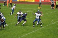 Urti e bruies di gioco del calcio Fotografia Stock Libera da Diritti