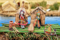 Uru puppets dollhouse Royalty Free Stock Photography