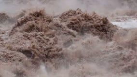 Urubamba-Fluss stock video footage