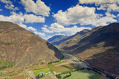 Urubamba River Royalty Free Stock Images