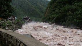 Urubamba River stock video