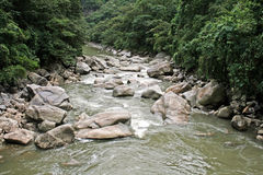 Urubamba river Royalty Free Stock Photos