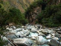Urubamba river Royalty Free Stock Photo