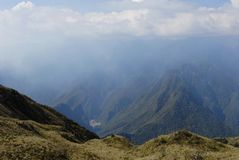 Urubamba river valley Royalty Free Stock Image