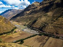Urubamba valley Royalty Free Stock Image