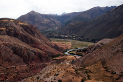 Urubamba valley Stock Photos