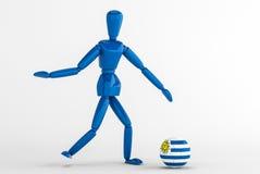 Urugauy fotboll Arkivfoto
