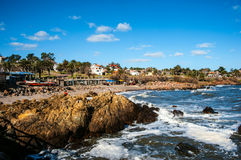 Uruguay Coast. San Francisco Fisherman's place near the town of Piriapolis in the Uruguay Coast Stock Photos