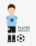 Uruguay design Stock Photography