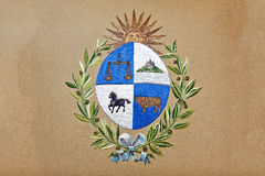 Uruguay Emblem royalty free stock photo