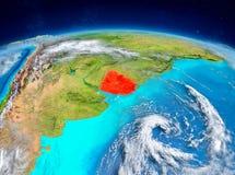 Uruguay på jord Fotografering för Bildbyråer