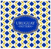 Uruguay pattern Stock Images