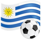 Uruguay soccer Royalty Free Stock Photos