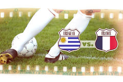 Uruguay vs France Stock Photography