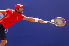 Uruguayan tennis player Pablo Cuevas Royalty Free Stock Photography