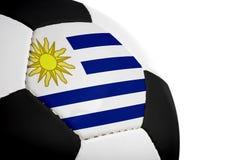 Uruguayische Markierungsfahne - Fußball Stockfotos