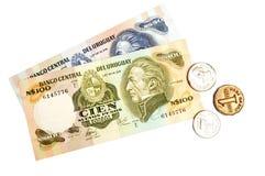 Urugwaj waluta zdjęcia stock
