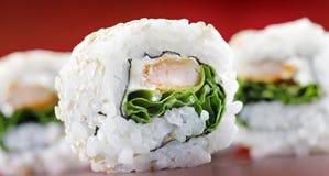 Urumaki-Sushi Lizenzfreie Stockbilder