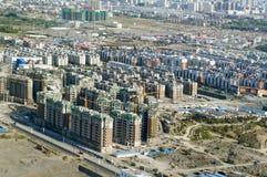 Urumqi city. China. Top view of  Urumqi city. China Royalty Free Stock Photography
