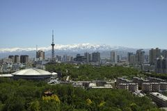 Urumqi city views Stock Photo