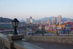 Urumqi la región autónoma de Uygur del ofXinjiang capital en China fotografía de archivo