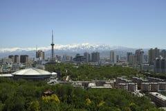 Urumqi stadssikter Arkivfoto