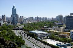Urumqi stadssikter Royaltyfri Foto