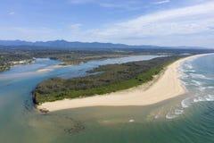 Urunga,新南威尔斯,澳大利亚, 免版税图库摄影