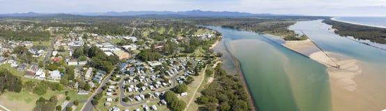 Urunga,新南威尔斯,澳大利亚, 库存图片
