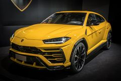 Urus de Lamborghini fotografia de stock