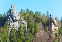 Urych Rocks view Stock Photo