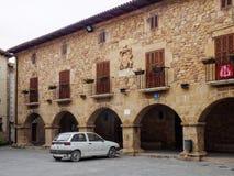 Urząd Miasta - Cirauqui obraz stock