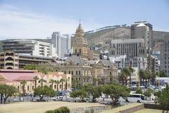 Urząd Miasta Kapsztad Południowa Afryka Obrazy Stock