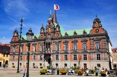 Urząd Miasta Malmö, Szwecja zdjęcia stock