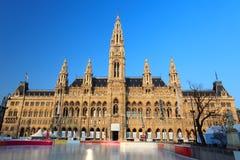 urząd miasta miasteczko s Vienna fotografia stock