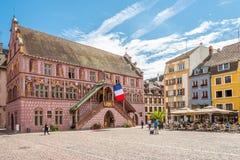 Urząd Miasta Mulhouse Zdjęcie Stock