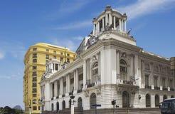 Urząd miasta Rio De Janeiro pałac Pedro Ernesto Obraz Royalty Free