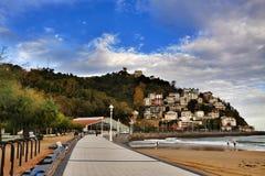 Urząd Miasta, San Sebastian, Hiszpania fotografia stock