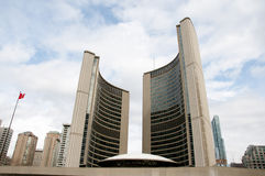 Urząd Miasta Toronto, Kanada - obrazy stock