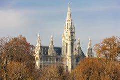 urząd miasta Vienna Fotografia Stock