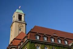 Urząd Miasta w Berlińskim Spandau, Niemcy Fotografia Royalty Free