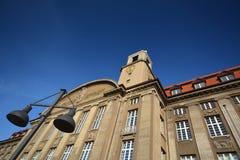 Urząd Miasta w Berlińskim Spandau, Niemcy Fotografia Stock
