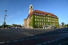 Urząd Miasta w Berlińskim Spandau, Niemcy Obraz Royalty Free