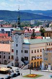 Urząd Miasta w Kromeriz, republika czech Obrazy Royalty Free