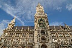 Urząd miasta w Monachium, Niemcy Obraz Stock